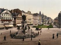 Frankfurt a.M, Rossmarkt u.Goetheplatz von AKG  Images