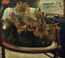 P.Gauguin, Sonnenblumen auf einem Sessel von AKG  Images