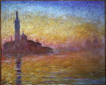 C.Monet, Daemmerung in Venedig by AKG  Images