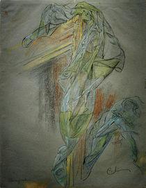 Carl Larsson, Rahmen und Drapierung... by AKG  Images