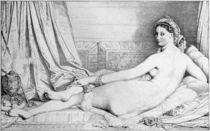 J.A.D.Ingres, Odaliske v.Typ Pourtales by AKG  Images