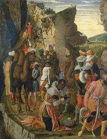 Mantegna, Anbetung der Koenige, Ausschn. von AKG  Images