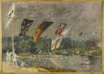 A.Sisley, Ruderregatta bei Molesey by AKG  Images