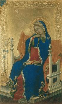 Simone Martini, Maria der Verkuendigung by AKG  Images