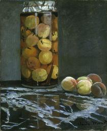 C.Monet, Pfirsichglas/ 1866 von AKG  Images