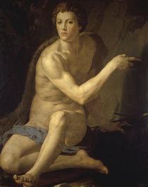 Bronzino, Johannes der Taeufer von AKG  Images