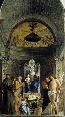 Giovanni Bellini, Sacra Conversazione by AKG  Images