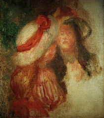 Auguste Renoir, Zwei kleine Maedchen von AKG  Images