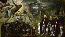 Tintoretto, Auferstehung und Avogadori by AKG  Images