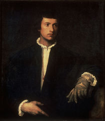 Tizian/Der Mann mit dem Handschuh/1523 by AKG  Images