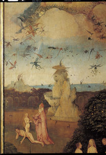 H.Bosch, Paradies, Ausschnitt von AKG  Images