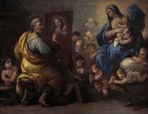 L.Giordano, hl. Lukas malt die Madonna von AKG  Images