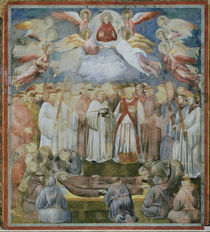 Giotto, Tod des Hl. Franziskus by AKG  Images