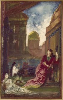 Gustave Moreau, Herodias und Salome by AKG  Images