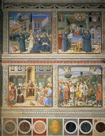 B.Gozzoli, Leben des Hl.Augustinus by AKG  Images