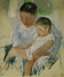 M.Cassatt, Jenny mit schlaefrigem Kind von AKG  Images
