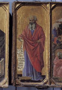 Duccio, Prophet Jeremia by AKG  Images