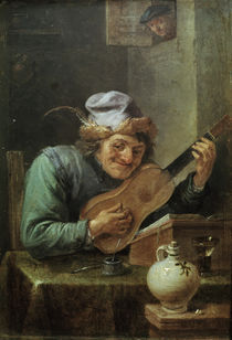 D.Teniers, Der Gitarrenspieler by AKG  Images