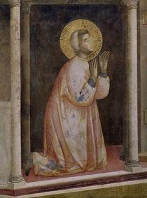 Giotto, Gebet von S. Damiano von AKG  Images