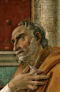 Botticelli, Hl. Augustinus, Ausschnitt by AKG  Images