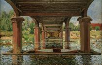 A.Sisley,Unter d. Bruecke v.Hampton Court by AKG  Images