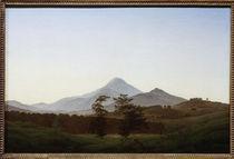 C.D.Friedrich, Boehmische Landschaft by AKG  Images