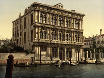 Venedig, Palazzo Vendramin Calergi von AKG  Images