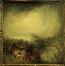 W.Turner, Der Abend der Sintflut by AKG  Images