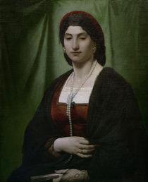A.Feuerbach, Nanna mit Perlenkette von AKG  Images
