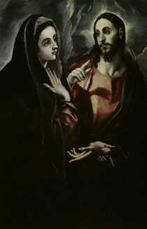 El Greco, Abschied Christi von Maria by AKG  Images