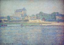 C.Monet, Kirche in Vernon von AKG  Images