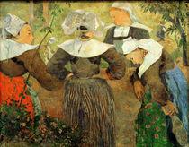 P.Gauguin, Bretonische Baeuerinnen by AKG  Images
