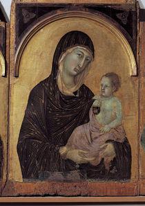 Duccio u.Werkstatt, Maria mit Kind von AKG  Images