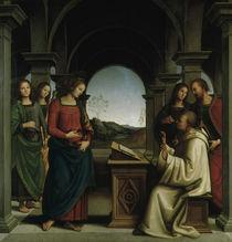 P.Perugino, Vision des Hl.Bernhard von AKG  Images