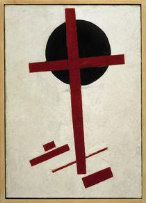 Malewitsch/ Rotes Kreuz .../ nach 1914 von AKG  Images