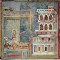 Giotto, Vision des Palastes von AKG  Images