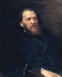 J.Polonskij / Gemaelde von Kramskoj 1875 by AKG  Images