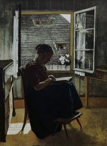 Hans Thoma/Mutter des Kuenstlers/1871 von AKG  Images