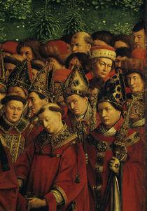 Bischoefe, Aebte, Laien/v.Eyck,Genter Alt. by AKG  Images