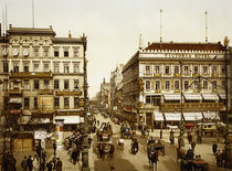 Berlin, Unter den Linden / Photochrom by AKG  Images