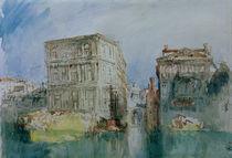 W.Turner, Venedig: Die Casa Grimani... von AKG  Images