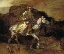Rembrandt, Der polnische Reiter by AKG  Images