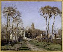 C.Pissarro, Dorfeingang von Voisins by AKG  Images