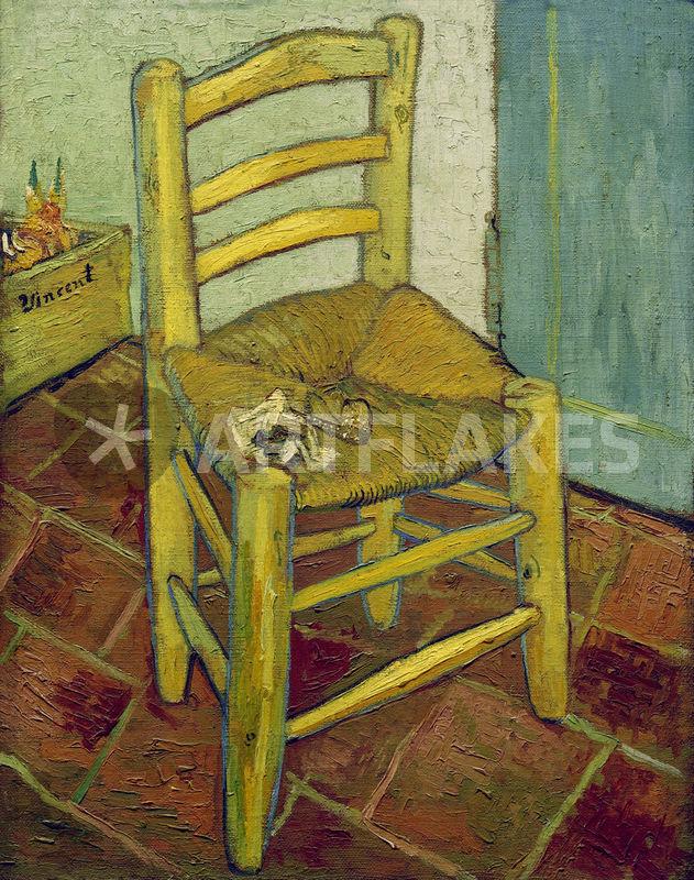 """""""Van Gogh Stuhl 1888"""" Bild Als Poster Und Kunstdruck"""