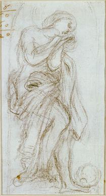 G.L.Bernini, Studie zur Hl.Magdalena by AKG  Images