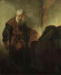 Rembrandt, Apostel Paulus im Nachdenken by AKG  Images