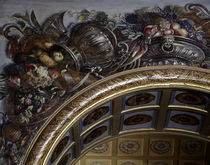 Vaux le Vicomte / Wandmalerei / Le Brun von AKG  Images