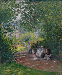Claude Monet, Im Park Monceau von AKG  Images