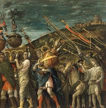 nach Mantegna, Triumph Caesars, Beute von AKG  Images