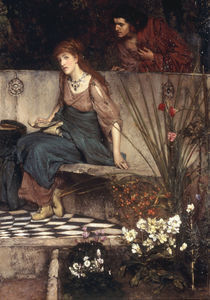 L.Alma Tadema, Der erste Vorwurf by AKG  Images